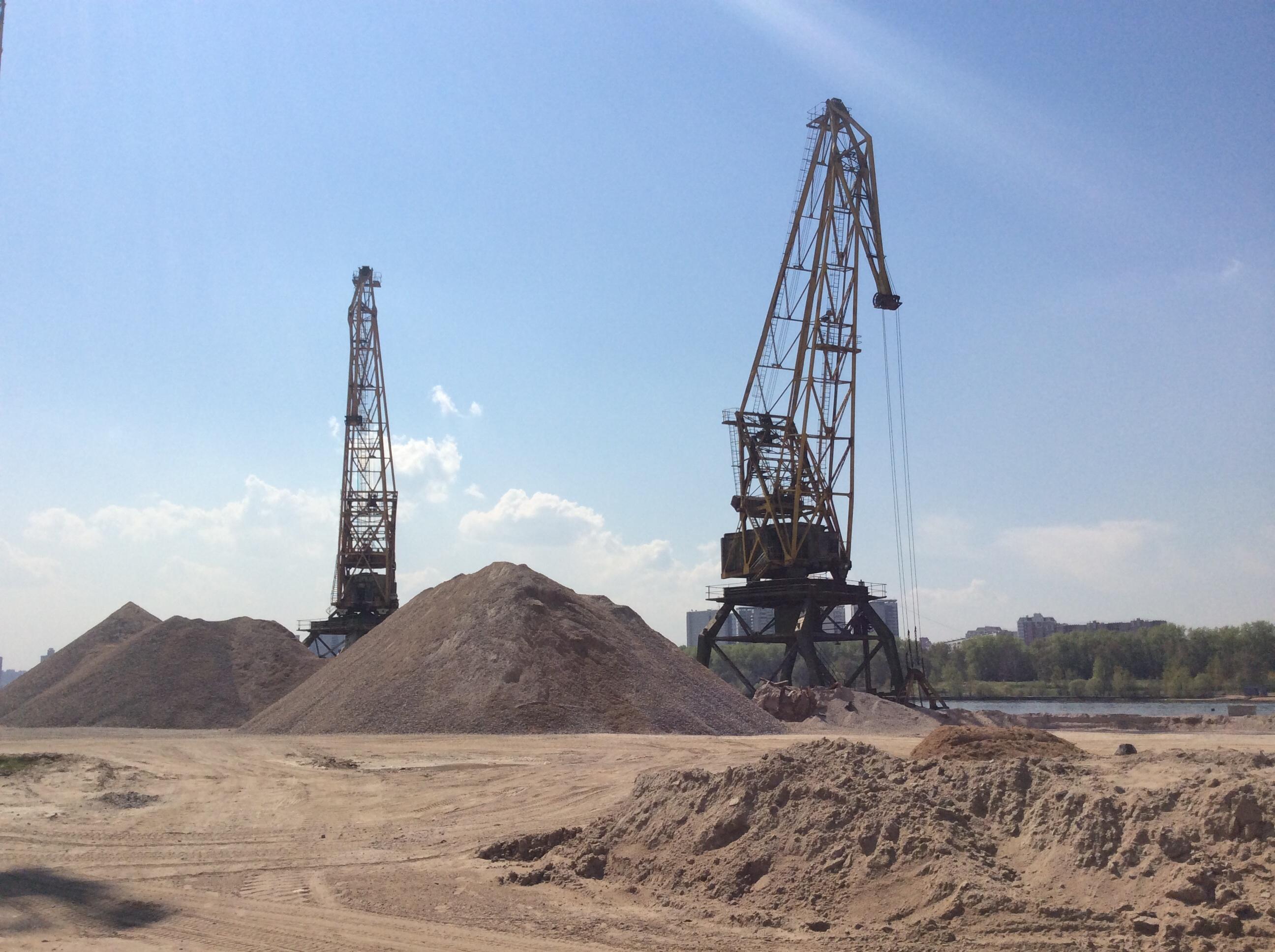 Песок речной стоимость