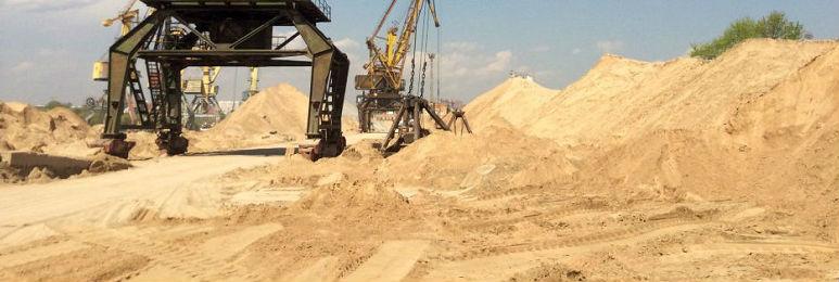 Песок речной продажа